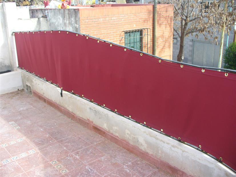 Melior toldos y cortinas techos for Ojales para toldos